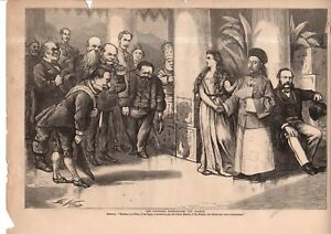 1868 Harpers Weekly - Nast - China deserves to be part of the World Community