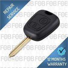 Citroen C1 C2 C3 C4 C5 Picasso Xsara 2 Button Remote Key Fob Repair Fix Service
