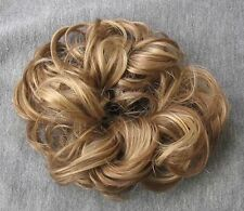 Haarteil - Haarband Zopfgummi Haargummi Scrunchie DUNKELBLOND MIX  24/14
