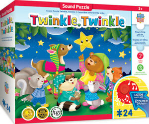 Masterpieces Puzzle Educational Sing-a-Long Twinkle Twinkle Puzzle 24 pieces