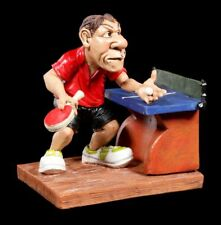Tischtennisspieler Figur beim Aufschlag - Funny Sports - Lustige Sportfigur Deko