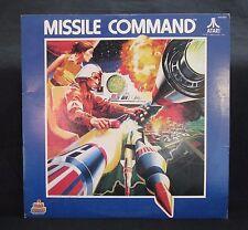 Atari MISSILE COMMAND Vinyl LP Kid Stuff Records KSS 5031 RARE 1982