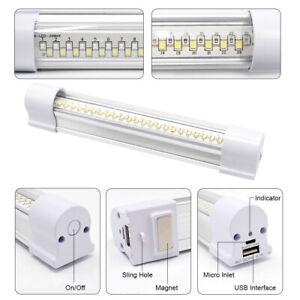 LED Portable Task Light Lumens Bright LED Tube Light Magnetic Cabinet Lamp 4W