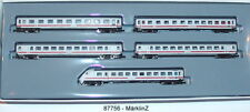 Märklin MHI 87756 escala Z Intercitywagen-set con 5 Vagón