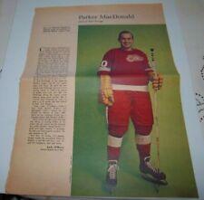 Parker MacDonald # 3 Weekend  Magazine Photos 1963-64  Toronto Star lot 4