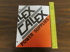 Calex Power Supplies Short Form Catalog 12pp 1980s