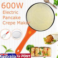 600W Crepe Maker Electric Pancake Making Machine Cooker Grill Plate Dessert