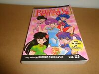 Ranma 1/2 Vol. 23 by Rumiko Takahashi Manga Graphic Novel Book English