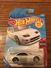 Nissan 300ZX Twin Turbo #110 * White * 2019 Hot Wheels JDM Japan Import Rare Htf