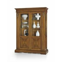 Showcase 1488 Solid Wood Art Povera Color Walnut, Finished Bassano