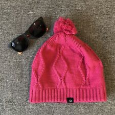 NWT Salomon Backcountry Black beanie 100% Polyester With Red