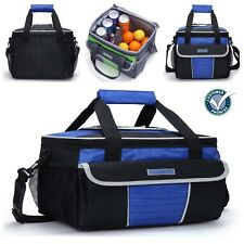 MIER Large Soft Cooler Bag Insulated Lunch Box Picnic Tote with Dispensing Lid