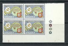 Angola 1958 - Brussels EXPO Block Four MNH