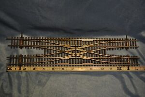 SHINOHARA 100 NICKEL SILVER HO SCALE DOUBLE CROSSOVER NEW with EXTRAS!!!