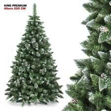 Bakaji King Premium Albero di Natale Innevato - Verde