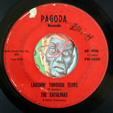 HEAR Catalinas 45 Laughin Through Tears/Summer's Groove PAGODA northern soul R&B