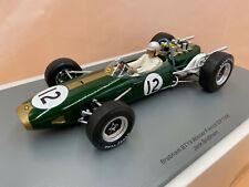 1/18 Brabham BT19 #12 Jack Brabham Sieg GP Frankreich 1966 SPARK 18S505