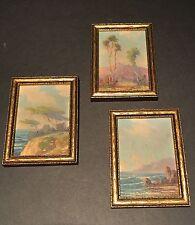 Great Set of 3 Impressionistic California Oils,WILLIAM ENGELHARDT (CA 1892-1969)
