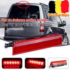 LED Feu de freinage arrière surélev 3eme feu stop rouge pour VW CADDY Box Estate