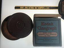 Kodak Cinegraph Bobby Jones 1920s golf champion 16mm Novagraph movie in box