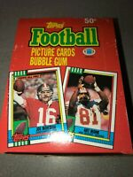 1990 Topps NFL Football Wax Packs Cards Box 36 Packs