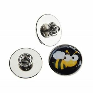 CUTE BABY BUMBLE BEE METAL PIN BADGE WITH 25mm LOGO