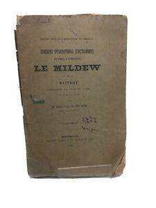 Concours internationale d'instruments propres à combattre le Mildew.1886