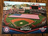 Washington Nationals 2018 Topps Opening Day Opening Day at the Ballpark Insert