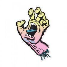 Santa Cruz Pastel Screaming Hand Skateboard Sticker 3in