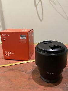 Sony FE 85 mm F/1.8 Lentes