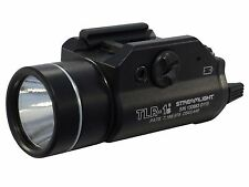 Streamlight TLR-1S Weapon Light LED with 2 CR123A Batteries fits Picatinny 69210