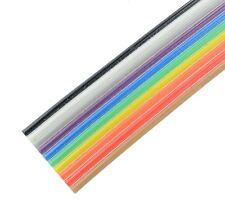 10-way de color Cable Cinta 28awg (precio por metro )