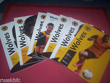 2014/15 - WOLVES HOME PROGRAMMES SELECT FROM THE DROP DOWN MENU