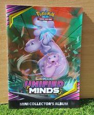 Pokemon Unified Minds Mini Collectors Album - Trading Card Game - Sun & Moon
