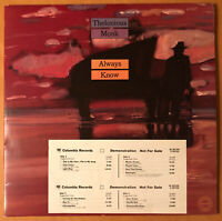 THELONIOUS MONK Always Know  COLUMBIA 2 LPS's WHITE LABEL PROMO EXCELLENT