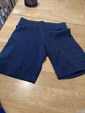 Girls Navy School PE Shorts Size 5-6 Yrs