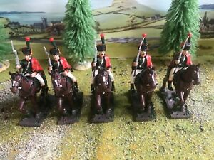 Napoleonic French Chasseurs a Cheval  - 54mm