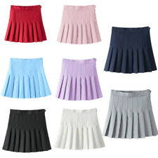 Women's Japan High Waist Pleated Cosplay Costume For Girls Tennis Scooters Skirt