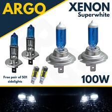 H7 T10 H1 100 W Super Blanco Xenon Luz de Cabeza de actualización Bombillas Conjunto Principal Dip Haz Led