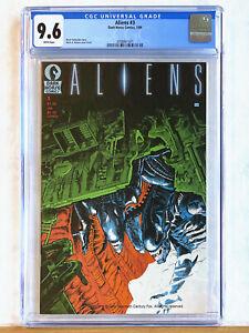 ALIENS #3  (Vol.1) : CGC 9.6 : 1989 Dark Horse, Mark Verheiden, Mark Nelson, MCU
