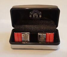Manchester Utd  FC Executive Cufflinks Crest Design in Gift Box - Ideal Gift