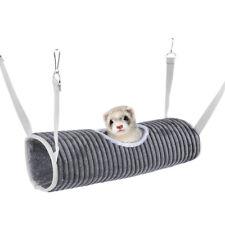 Hamster Tunnel Hammock for Small Animals Sugar Glider Tube Bed Rat Ferret Dan
