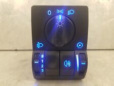 Vauxhall Astra G Mk4 / Zafira A Mk1 Blue Led Headlight Switch (Rear Fog Only)