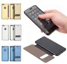 Fundas con tapa Para iPhone 6 Plus color principal negro para teléfonos móviles y PDAs