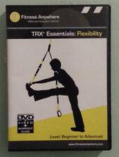 TRX ESSENTIALS FLEXIBILITY   DVD  no booklet