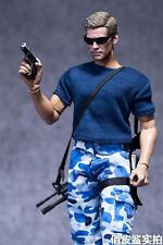 1/6 Scale Uniform Man Male Action Figure Clothing Vest Pants Camouflage