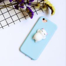 Squishy 3D Anti Stress Lazy Cat Soft Rubber Case Cover F iPhone X 5 6 7 8 PLUS