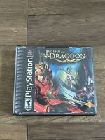 The Legend of Dragoon (Sony PlayStation 1, 2000) COMPLETE BLACK LABEL PS1 RPG!