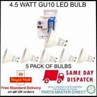 General Electric 4.5 Watt GU10 LED Glühbirne 360 Lumen Equi Zu 50 Watt 5 Packung