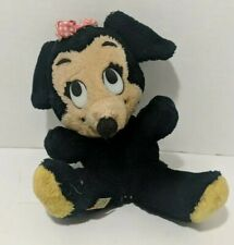 "New listing Vintage Walt Disney Original Mickey Mouse 10"" Plush Stuffed Animal Toy"